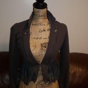 Jackets & Blazers - Tulle bottom blazer